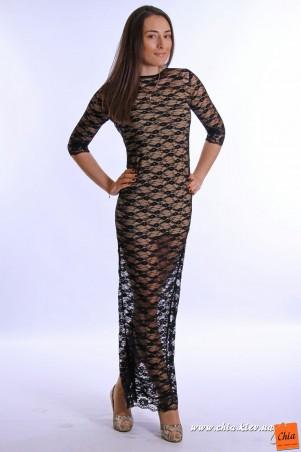 Черное 021 женская одежда оптом чиа