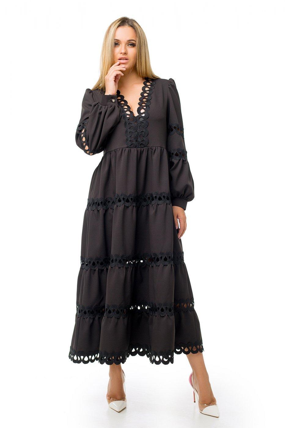 Zuhvala: Платье Эстель без пояса - фото 1