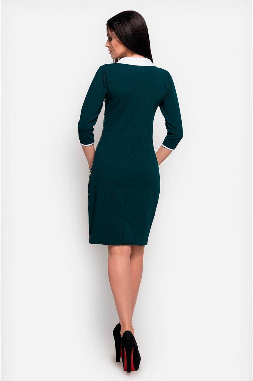 Velurs: Платье с буквенным принтом 1018 - фото 3