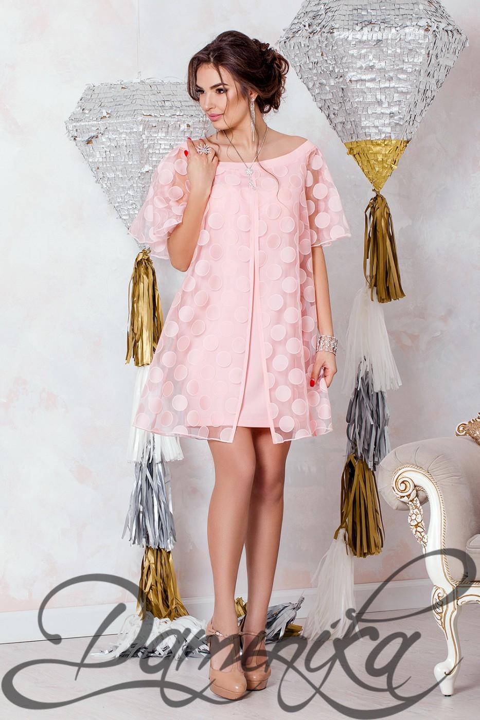 8d6b747148631e7 ... Daminika: Коктейльное платье из органзы