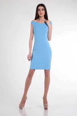 Cocoon: Платье Emma-blue - фото 1