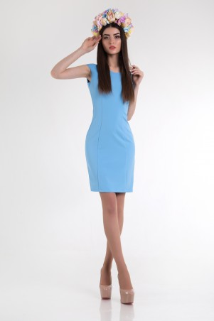 Cocoon: Платье Emma-blue - фото 4