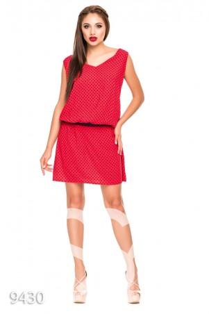 ISSA PLUS: Платья 9430_красный - фото 1
