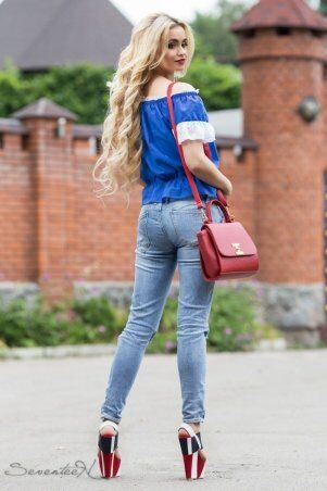 Seventeen: Блуза 658.1810 - фото 2