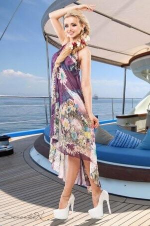 Seventeen: Платье-пляж 646.1437 - фото 2
