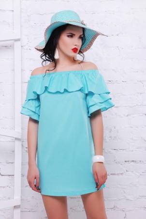 TessDress: Платье с открытыми плечами «Шампань» 1465 - фото 1
