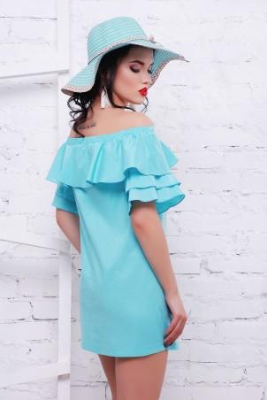 TessDress: Платье с открытыми плечами «Шампань» 1465 - фото 2
