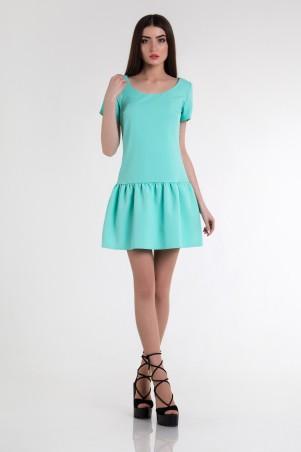 Cocoon: Платье Masha-mint - фото 1