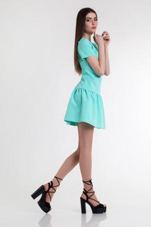 Cocoon: Платье Masha-mint - фото 3