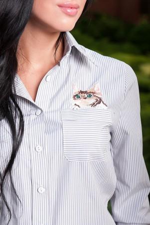 "Fognar: Рубашка ""Stylish cat"" 2026 - фото 2"
