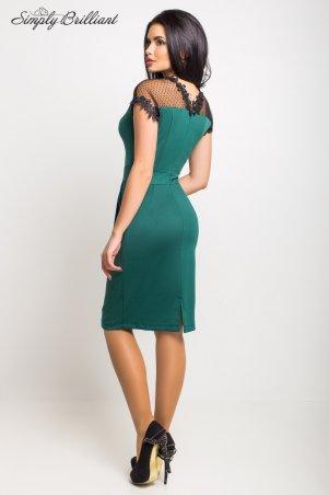 Simply brilliant: Платье Селена03_темно_зеленый - фото 2