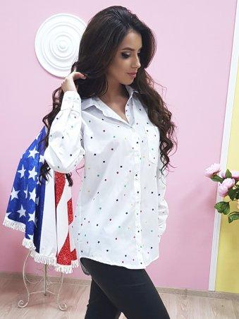 Paetka: Рубашка с модным принтом 652 - фото 3