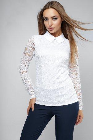 LiPar: Женская блузка с длинным рукавом Белая 2046 д/р белый - фото 1