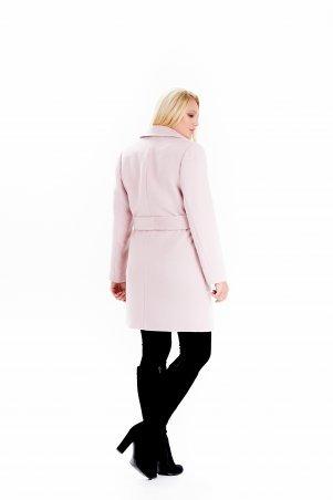 """Vicco: Пальто женское весеннее с поясом """"ALPAKA"""" (цвет розовый) 2390 - фото 4"""