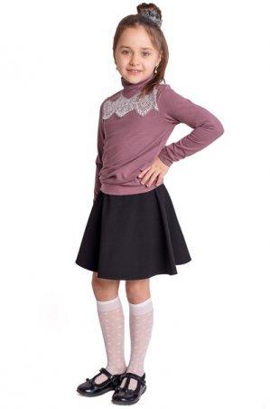 Filatova Tatiana: Гольф детский коричневый 44 - фото 1