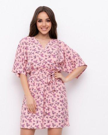 ISSA PLUS: Платья NB-301_розовый - фото 1