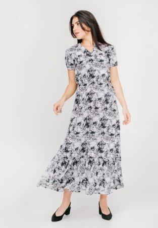 Bessa: Платье принтованное с воланом 1836 - фото 1