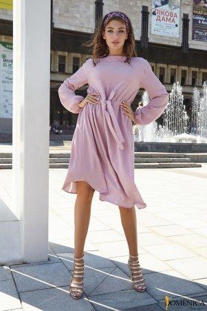 Domenica: Платье с кулиской в поясе - Р 2520 L - фото 1