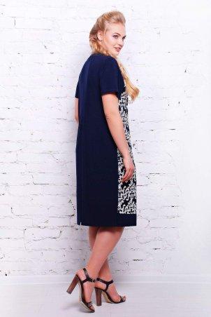 Tatiana: Платье из трикотажа ВЕНЕЦИЯ темно-синее - фото 2