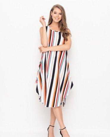 ISSA PLUS: Платья 10961_мультиколор - фото 1