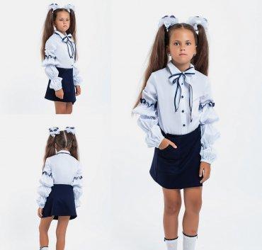 Modna Anka: Детская школьная блузка 113165 113165 - фото 5