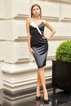 Domenica: Облегающее платье с открытыми плечами - Р 2539 L - фото 1