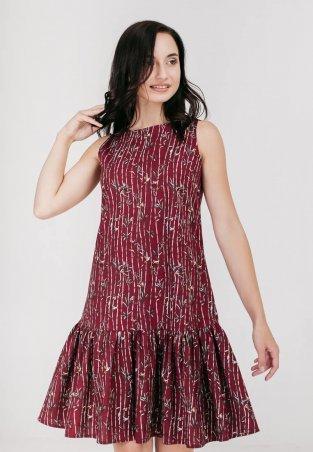 Bessa: Платье принтованное с воланом 1868 - фото 1