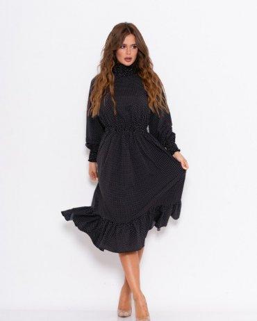 ISSA PLUS: Платья 10959_черный - фото 1