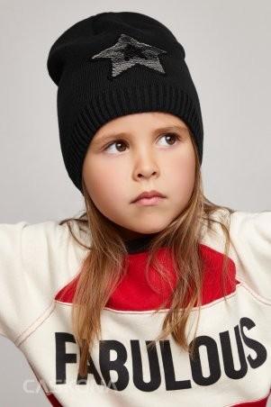 Caskona: Starlet Uni ШАПКА чёрный CS 122801 - фото 1