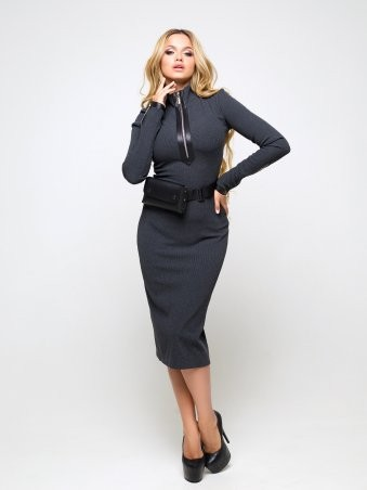 Luzana: Платье Стейси (темно-серый) - фото 1