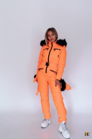 Domenica: Зимний комбинезон с рукавичками и сумкой - Р2346 Р 2346 L - фото 5