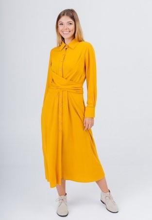 Bessa: Платье -рубашка миди с завязками 1896 - фото 1