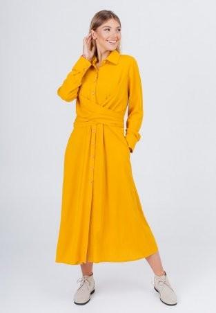 Bessa: Платье -рубашка миди с завязками 1896 - фото 2