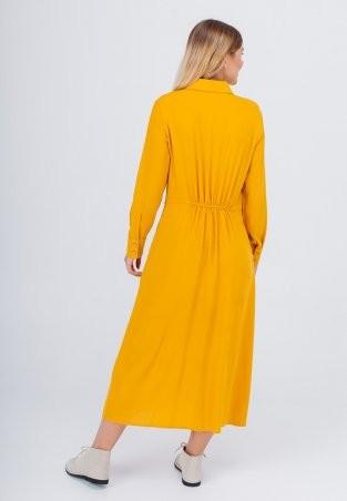 Bessa: Платье -рубашка миди с завязками 1896 - фото 3