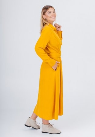 Bessa: Платье -рубашка миди с завязками 1896 - фото 4