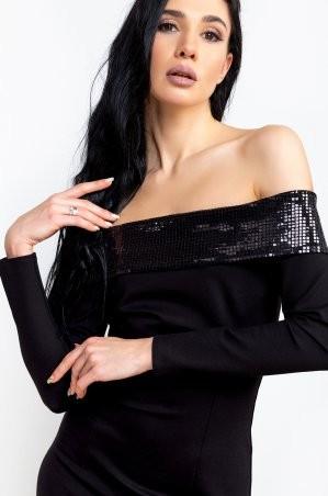 Zuhvala: Платье Варнава черный - фото 3