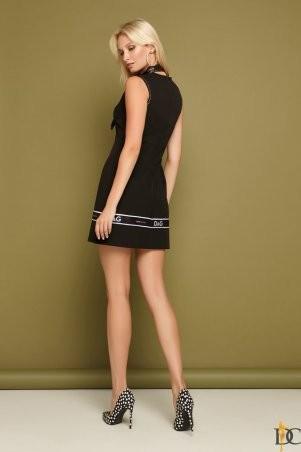Domenica: Изящное платье-футляр декором лент «D&G» Р 2256 - фото 3