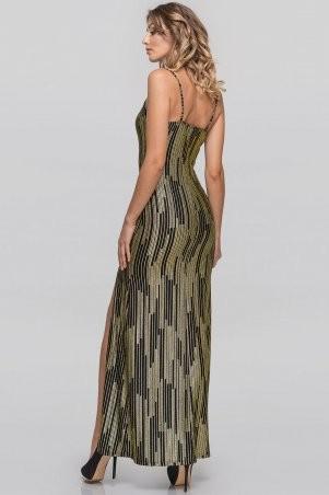 V&V: Платье 2887.124 золотистое с черным 2887.124 - фото 3