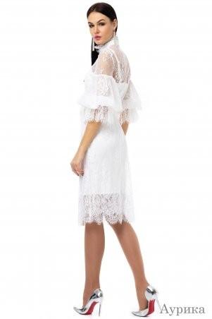 Angel PROVOCATION: Платье-двойка АУРИКА молочный - фото 2