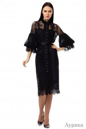 Angel PROVOCATION: Платье-двойка АУРИКА черный - фото 1
