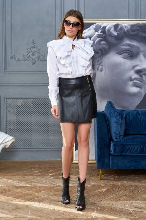 Jadone Fashion: Юбка-шорты Эйри латекс М1 - фото 1