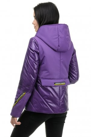 A.G.: Демисезонная куртка «Матиса» 277 фиолет - фото 4