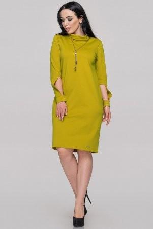 V&V: Платье 2889.47 горчично-оливковое 2889.47 - фото 1