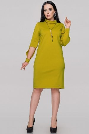 V&V: Платье 2889.47 горчично-оливковое 2889.47 - фото 2