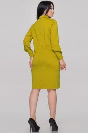 V&V: Платье 2889.47 горчично-оливковое 2889.47 - фото 4