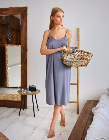Amella Novak: Платье шелковое Amella Novak midi 6107 - фото 1