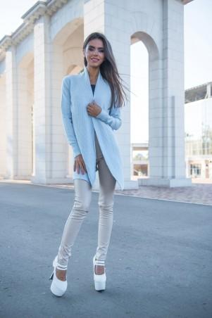 Женский голубой свитер доставка