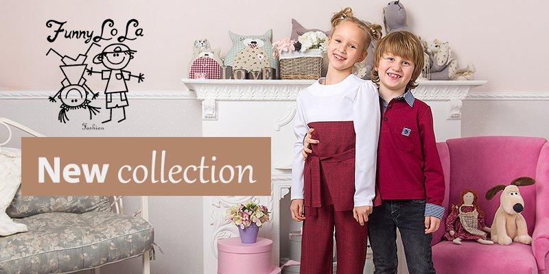 В ассортименте Первого оптового интернет-супермаркета Chia добавлена новая торговая марка Funny Lola Fashion - украинский производитель детской одежды