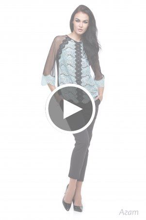 Angel PROVOCATION: Костюм-двойка (брюки + блуза) Агат - перейти к видео товара