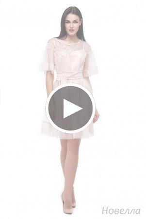 Angel PROVOCATION: Платье двойка (платье атлас + платье сетка) Новелла - перейти к видео товара